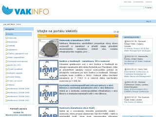 Náhled odkazu http://www.vakinfo.cz