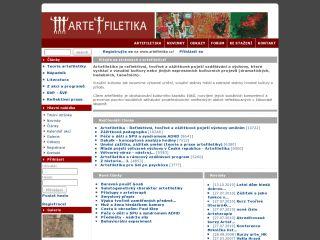 Náhled odkazu http://artefiletika.kvk.zcu.cz/