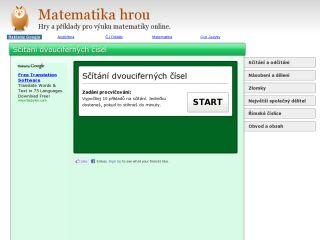 Náhled odkazu http://matematika.hrou.cz/