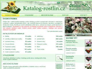 Náhled odkazu http://www.katalog-rostlin.cz/
