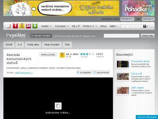 Náhled odkazu http://www.ceskatelevize.cz/porady/10317262233-abeceda-komunistickych-zlocinu/411235100181005-emigrace/