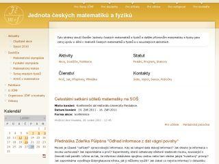 Náhled odkazu http://www.jcmf.cz/