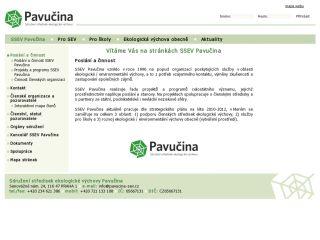 Náhled odkazu http://www.pavucina-sev.cz/