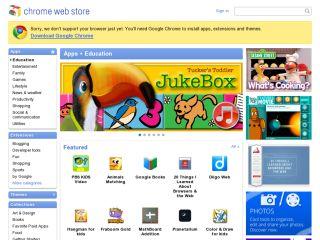 Náhled odkazu https://chrome.google.com/webstore/category/app/8-education