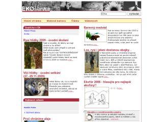 Náhled odkazu http://www.ekoserver.cz/