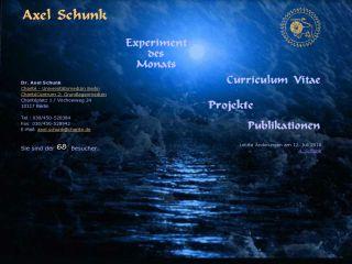 Náhled odkazu http://www.axel-schunk.de/