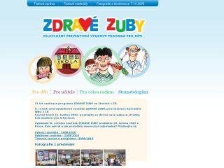 Náhled odkazu http://www.zdravezuby.cz/