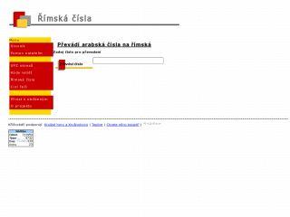 Náhled odkazu http://krizovky.svada.cz/rimska-cisla.php
