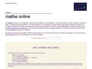 Náhled odkazu http://www.mathe-online.at/galerie.html