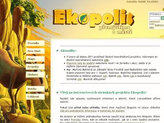 Náhled odkazu http://www.ekopolis.cz/%C3%BAvodn%C3%AD-str%C3%A1nka.aspx