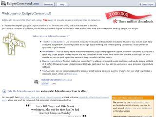 Náhled odkazu http://www.eclipsecrossword.com/