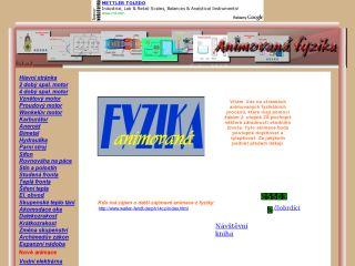Náhled odkazu http://www.animfyzika.wz.cz/