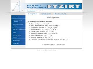 Náhled odkazu http://sbirkaprikladu.gym-karvina.cz/sbirka_prikladu.html