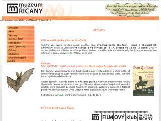 Náhled odkazu http://www.ricany.cz/org/muzeum/