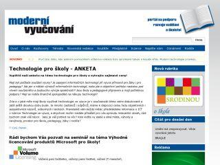 Náhled odkazu http://www.modernivyucovani.cz
