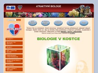 Náhled odkazu http://atraktivnibiologie.upol.cz/
