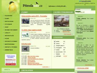 Náhled odkazu http://www.prirodainfo.cz