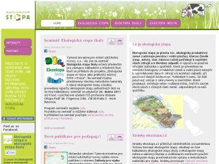Náhled odkazu http://www.ekostopa.cz/