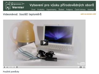 Náhled odkazu http://www.vernier.cz/experimenty/prehled/oblast/video