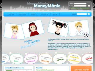 Náhled odkazu http://www.moneymanie.cz