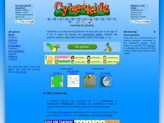 Náhled odkazu http://www.cyberkidz.co.uk/