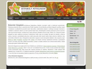 Náhled odkazu http://www.botanickafotogalerie.cz/