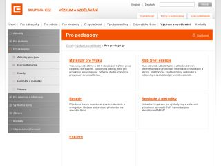 Náhled odkazu https://www.cez.cz/cs/vyzkum-a-vzdelavani/pro-pedagogy.html