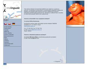 Náhled odkazu http://www.triolinguale.eu/index.php