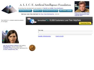 Náhled odkazu http://alice.pandorabots.com/