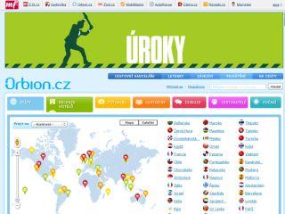 Náhled odkazu http://www.orbion.cz/