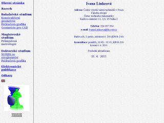 Náhled odkazu http://www.linkeova.cz/