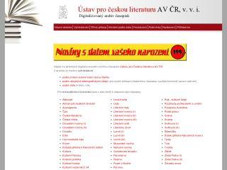 Náhled odkazu http://archiv.ucl.cas.cz/