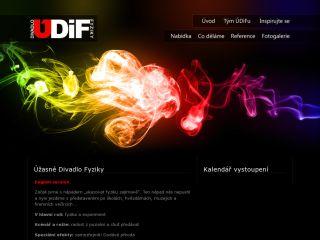 Náhled odkazu http://www.udif.cz/
