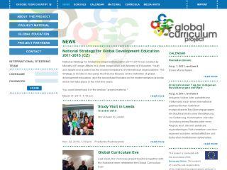 Náhled odkazu http://www.globalcurriculum.net/news/