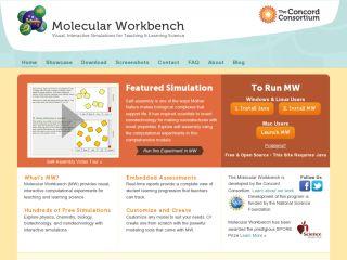 Náhled odkazu http://mw.concord.org/modeler/index.html