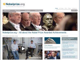 Náhled odkazu http://www.nobelprize.org/