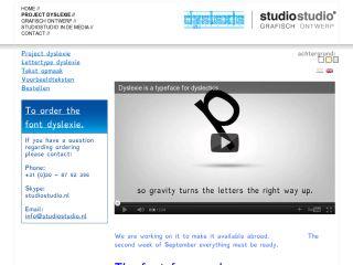 Náhled odkazu http://www.studiostudio.nl/project-dyslexie/