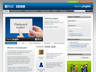 Náhled odkazu http://www.teachingenglish.org.uk/