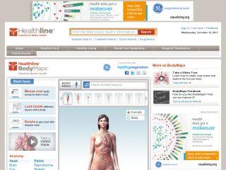 Náhled odkazu http://www.healthline.com/human-body-maps/