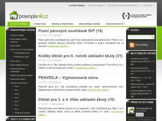 Náhled odkazu http://pravopisne.cz/