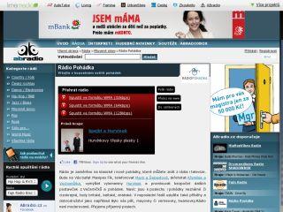 Náhled odkazu http://www.abradio.cz/radio/46/radio-pohadka/#