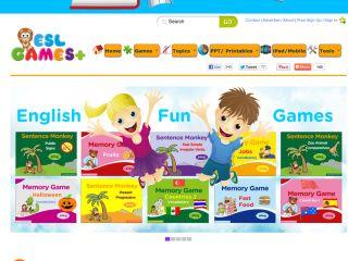 Náhled odkazu http://www.eslgamesplus.com/