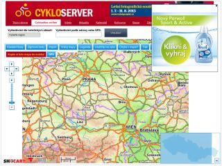 Náhled odkazu http://www.cykloserver.cz/cykloatlas/