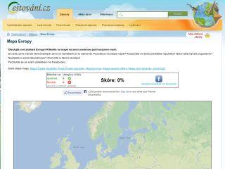 Náhled odkazu http://www.cestovani.cz/zabava/mapa-evropy/