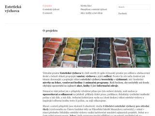 Náhled odkazu http://www.estetickavychova.cz