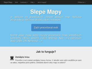 Náhled odkazu https://slepemapy.cz/