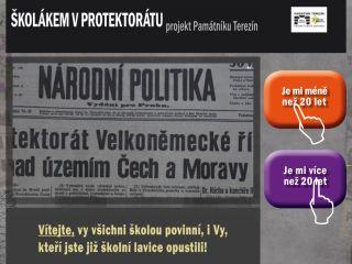 Náhled odkazu http://skolakemvprotektoratu.pamatnik-terezin.cz