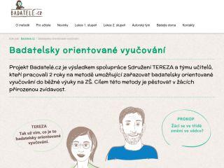 Náhled odkazu http://badatele.cz/cz