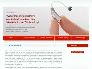Náhled odkazu http://financeproneslysici.slu.cz/