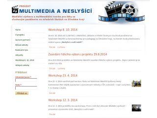 Náhled odkazu http://www.multimediaaneslysici.cz/